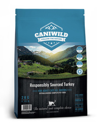 Caniwild Adult & Sterilised Cat Free run Turkey próbka 100g
