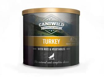 Caniwild Poultry with Rice and Vegetables – puszka z zamykanym wieczkiem – 850 g