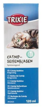Bańki mydlane z kocimiętką dla kota 120ml