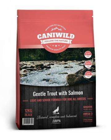 Caniwild Light and Senior Gentle Trout with Salmon 12kg Łosoś i Pstrąg