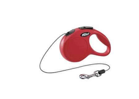 Flexi Smycz automatyczna New Classic Cat XS linka 3m czerwona