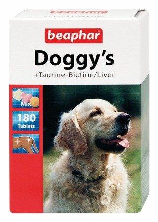 Przysmak witaminowy dla psa Beaphar Doggy's Tauryna Biotyna Wątróbka 180 sztuk