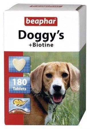 Przysmaki z witaminami i biotyną dla psa Beaphar Doggy's Biotine 180 sztuk