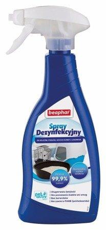 Spray dezynfekcyjny Beaphar eliminuje wirusy i bakterie 250 ml