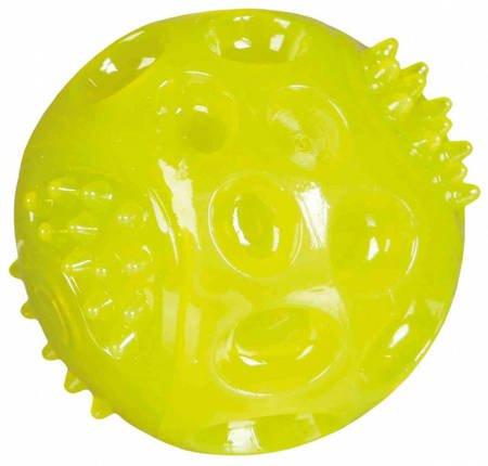 Świecąca i pływająca piłka dla psa 6cm