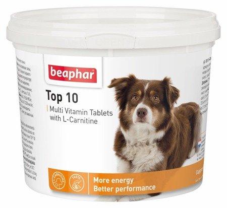 Tabletki witaminowo - mineralne dla psów Top 10 z L-karnityną 750 tabletek