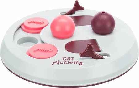 Zabawka edukacyjna dla kota w zdobywanie przysmaków